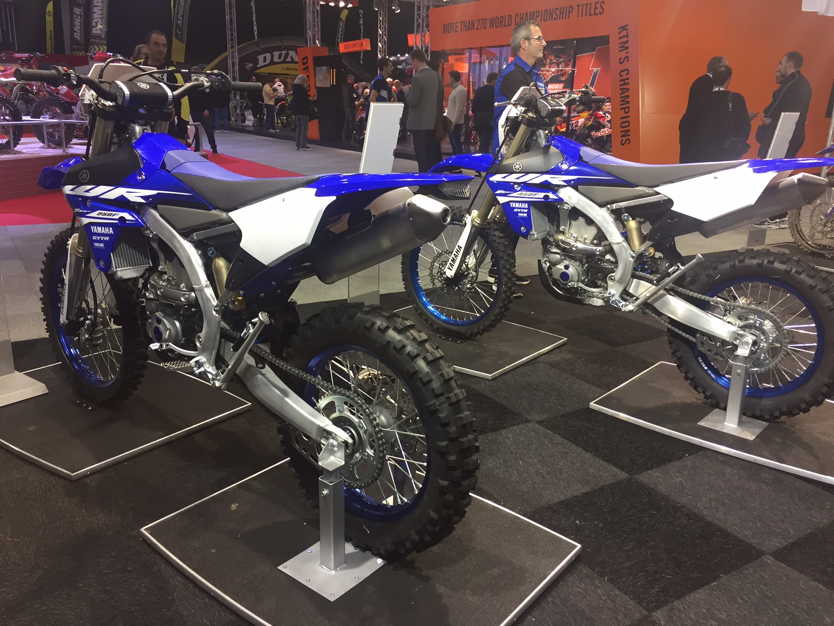YAMAHA DEBUT THEIR 2018 WR250F AND WR450F AT THE DIRT BIKE