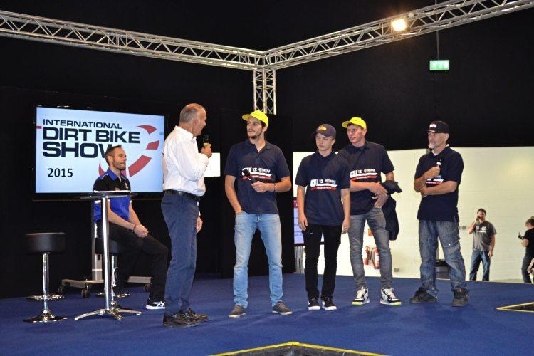 GL12 Yamaha EMX team
