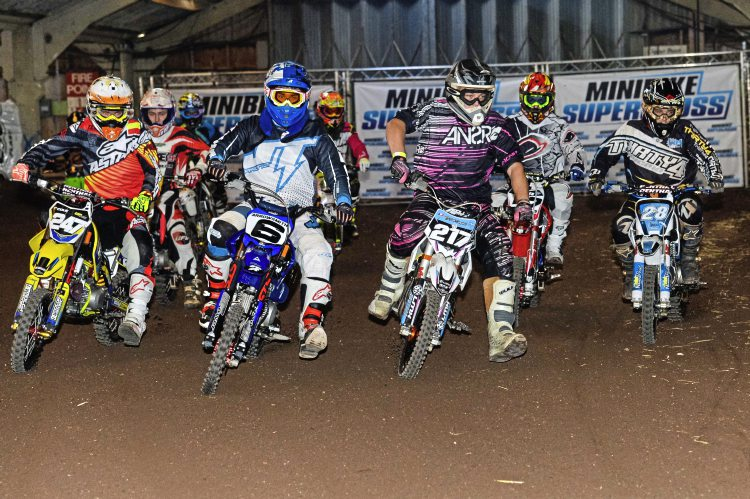 Minibike Supercross. Image credit Harry Lessman